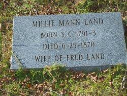 Millie <i>Mann</i> Land