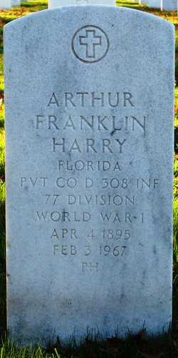 Arthur Franklin Harry