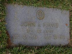 John A Purvis