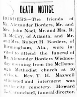 Alexander Borders