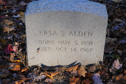 Ersa <i>Smith</i> Alden