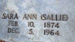 Sara Ann Sallie <i>Kilpatrick</i> DeHart