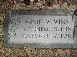 Annie Mae <i>Warren</i> Winn