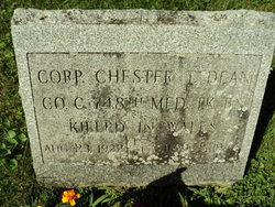 Corp Chester T Dean