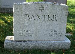 Miriam <i>Glickman</i> Baxter