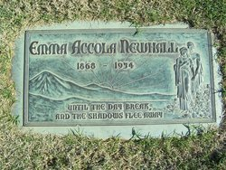 Emma <i>Accola</i> Newhall