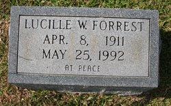 Lucille <i>Welch</i> Forrest