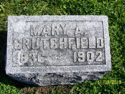 Mary A <i>McCullough</i> Crutchfield