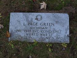 Langdon Page Green