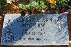 Barbara Ann Bobbie <i>McKee</i> McGraw