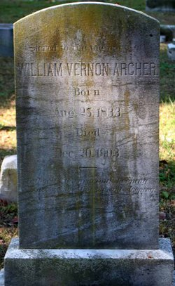 William Vernon Archer