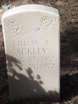 Lillian E Ackley