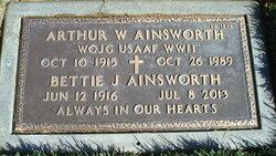 Bettie J Ainsworth