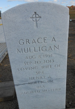 Grace Anne <i>O'Connor</i> Mulligan