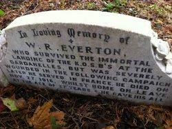 Pvt W R Everton