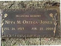 Neva M. <i>Ortega</i> Jones