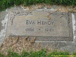 Eva <i>Nurse</i> Hendy