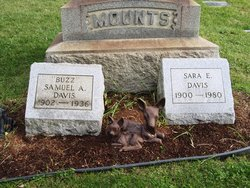 Sarah Elizabeth <i>Mounts</i> Davis