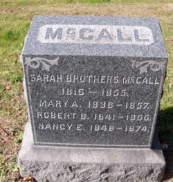 Sarah <i>Brothers</i> McCall