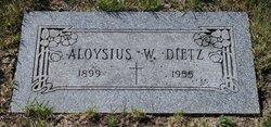 Aloysius W. Dietz