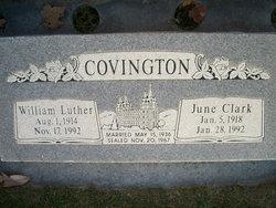 Audell June June <i>Clark</i> Covington