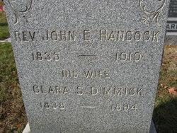 Rev John E Hancock