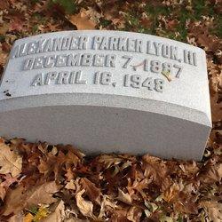 Alexander Parker Lyon, III
