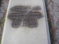 Carrie Bell <i>Gladin</i> Harrell