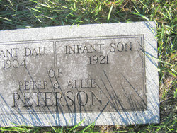 Infant Son Peterson