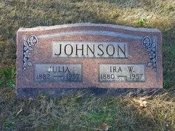 Julia <i>Barnhart</i> Johnson