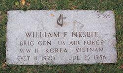 William F Nesbit