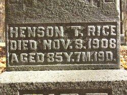 Henson T. Rice