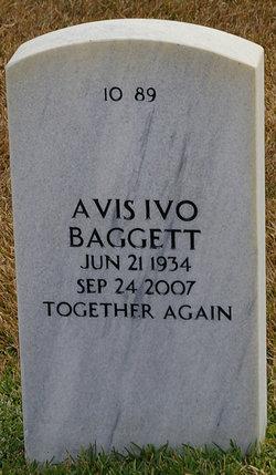 Avis Ivo <i>Milam</i> Baggett