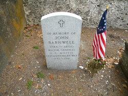 Maj John Barnwell