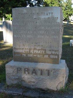 Harriet H <i>Pratt</i> Webster