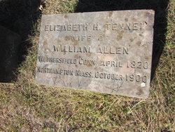 Elizabeth H <i>Tenney</i> Allen