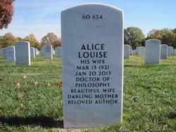 Alice Louise <i>Lyle</i> Cary