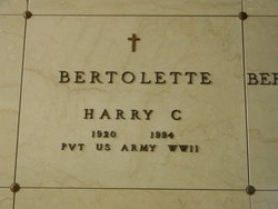 Harry C. Bertolette