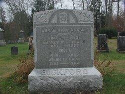 Jennie F. <i>Burnham</i> Bickford