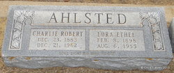Lora Ethel <i>Routh</i> Ahlsted