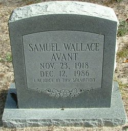 Samuel Wallace Avant