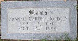 Carmen Frances Frankie <i>Carter</i> Hoadley