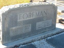 Martha Arena Rena <i>Phillips</i> Foreman