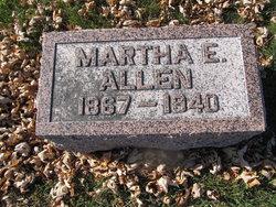 Martha E Allen