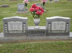 Odie Zell <i>Clark</i> Cheatham