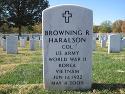 Browning R Haralson