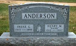 Irene Gladys <i>Bjerke</i> Anderson