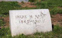 Irene <i>Folson</i> Nann