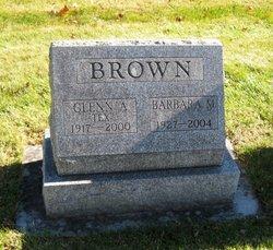 Barbara M. <i>Broberg Gleason</i> Brown