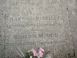 Lucie Madeleine Madeleine Renaud <i>Renaud</i> Barrault